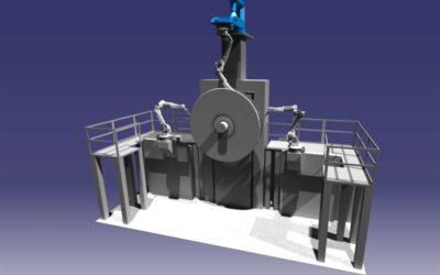 Konceptskapande av robotstation och ny fabrik